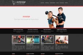 FitStop PT Studio Kurumsal Web Sitesi
