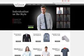 VIP Tailor Online Tasarla-Al Web Sitesi