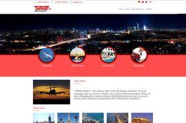 Vatan Reisen Kurumsal Web Sitesi