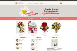 Çiçekçi Ankara Online Satış Sistemi